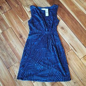 Loft Side ruched dress